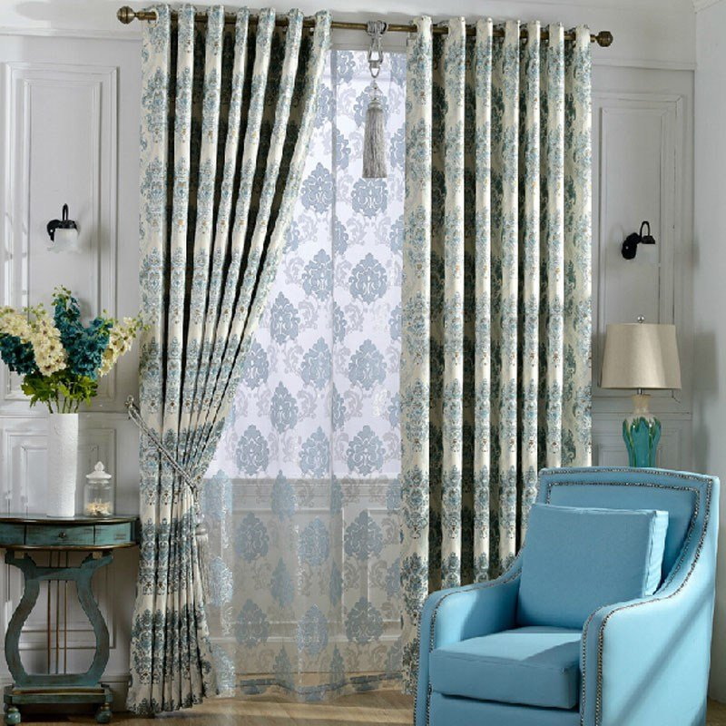 Best Decorative Thick Fabric Full Blackout Curtain For Bedroom Room With Pictures