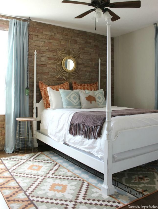 Best Southwestern Guest Room Reveal Domestic Imperfection With Pictures