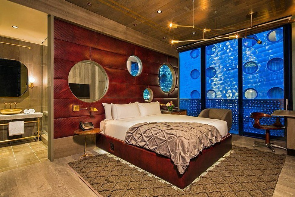 Best Hotel Rooms New York City The Dream Hotel New York With Pictures