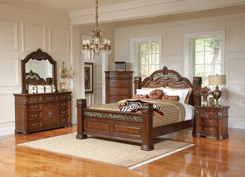 Best Dreamfurniture Com 201821 Dubarry Grand Bedroom Set With Pictures