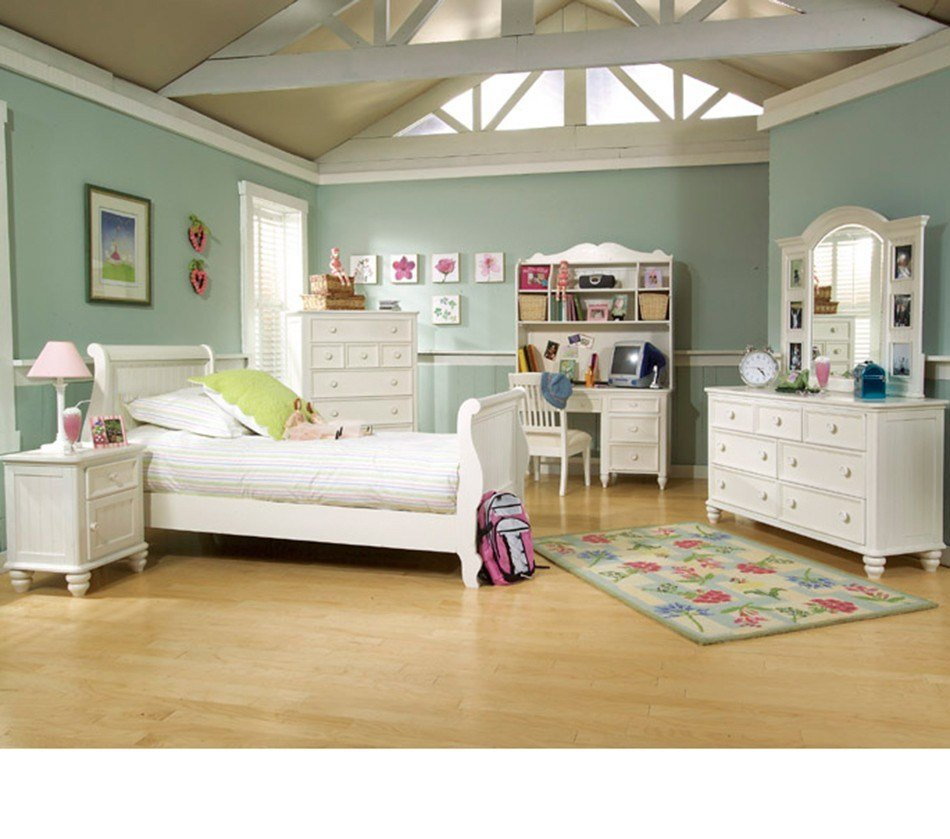 Best Dreamfurniture Com Summer Breeze Sleigh Bedroom Set With Pictures