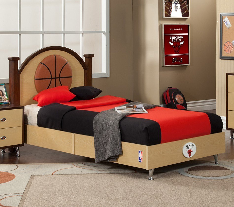 Best Dreamfurniture Com Nba Basketball Chicago Bulls Bedroom With Pictures