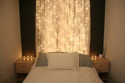 Best Romantic Bedroom Decorations With Christmas Lights With Pictures