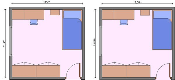 Best Kid S Bedroom Layouts With One Bed With Pictures