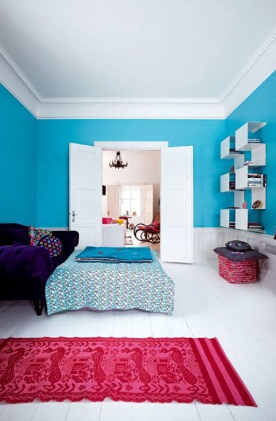 Best 50 Bright And Colorful Room Design Ideas Digsdigs With Pictures