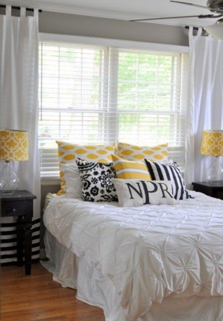 Best Sunny Yellow Accents In Bedrooms – 49 Stylish Ideas Digsdigs With Pictures