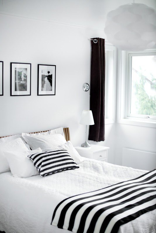 Best 19 Traditional Black And White Bedroom That Inspire Digsdigs With Pictures
