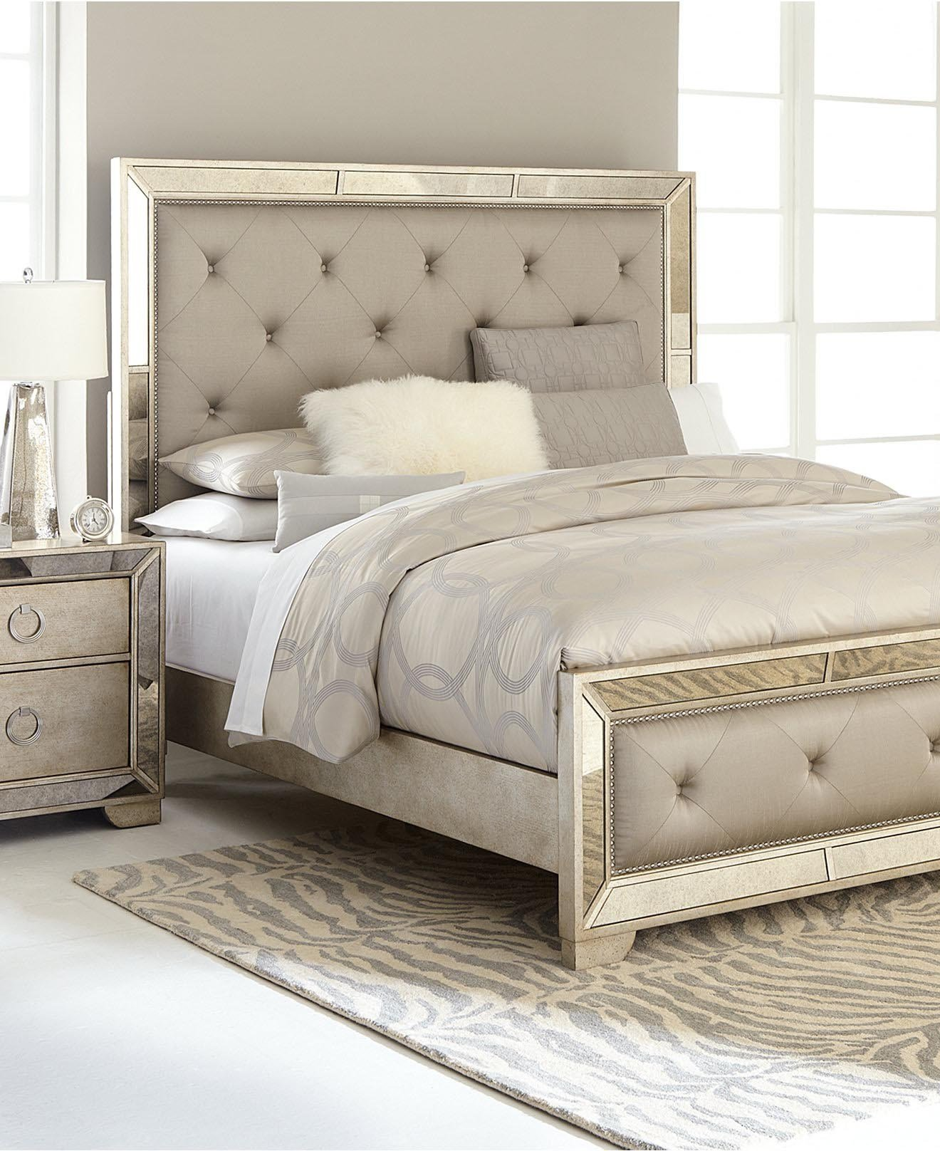 Best Mirrored Glass Bedroom Furniture Eo Furniture With Pictures