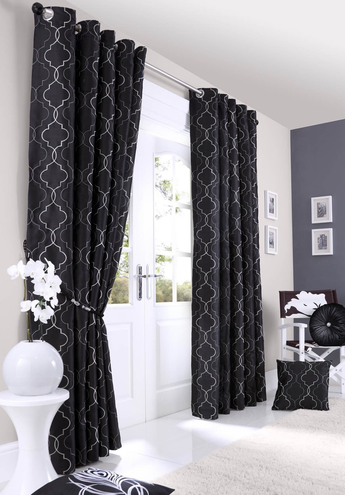 Best Grey And Black Curtains Black Curtains Benefits And Why With Pictures