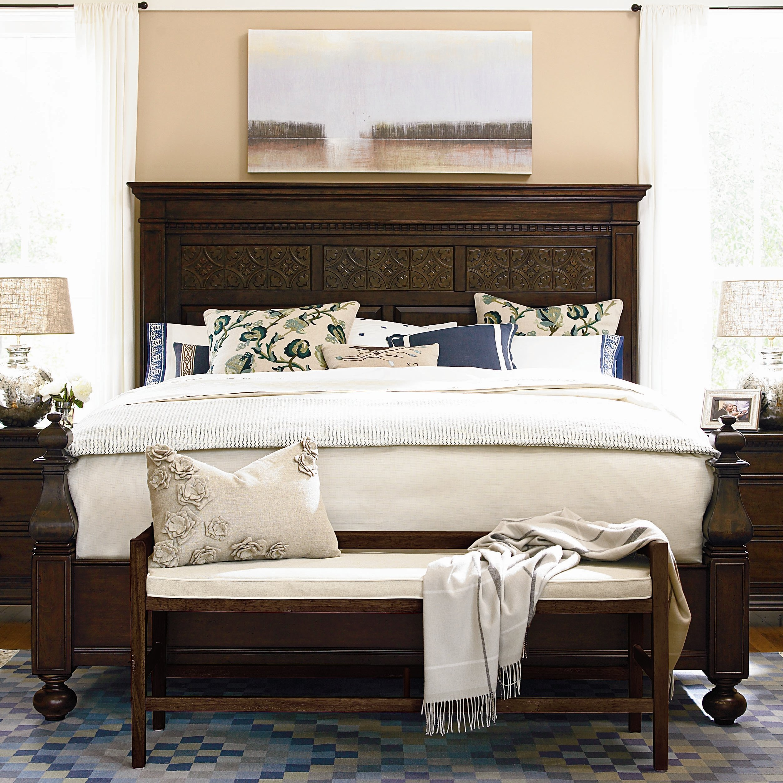 Best Paula Deen Bedroom Furniture With Distressed Finish Home With Pictures