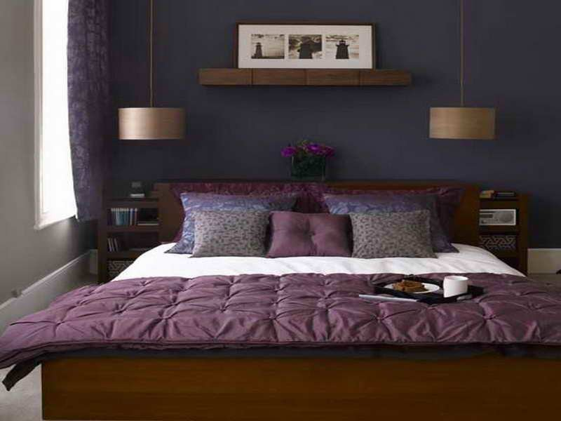 Best Small Bedroom Ideas For Couples Purple Color Schemes For Bedrooms Purple Color Schemes For With Pictures