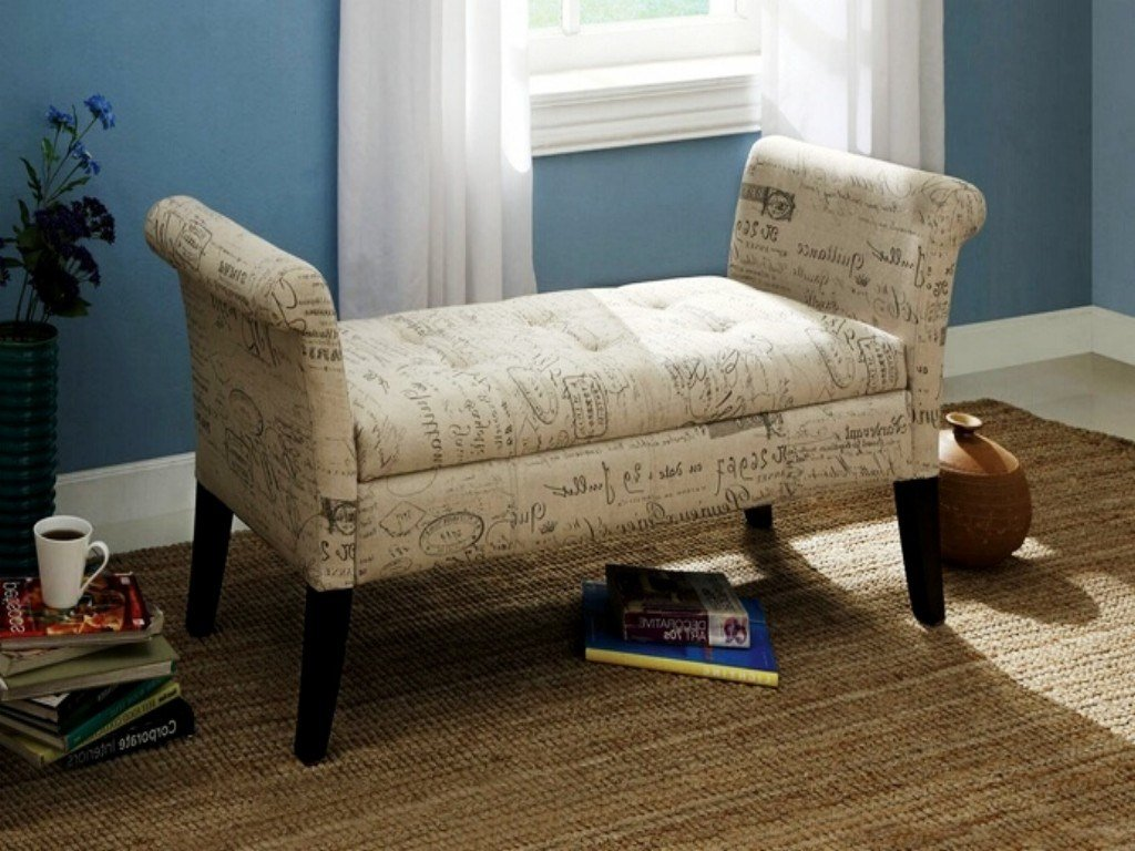 Best Storage Bench Seat For Bedroom Upholstered Storage Bench With Pictures