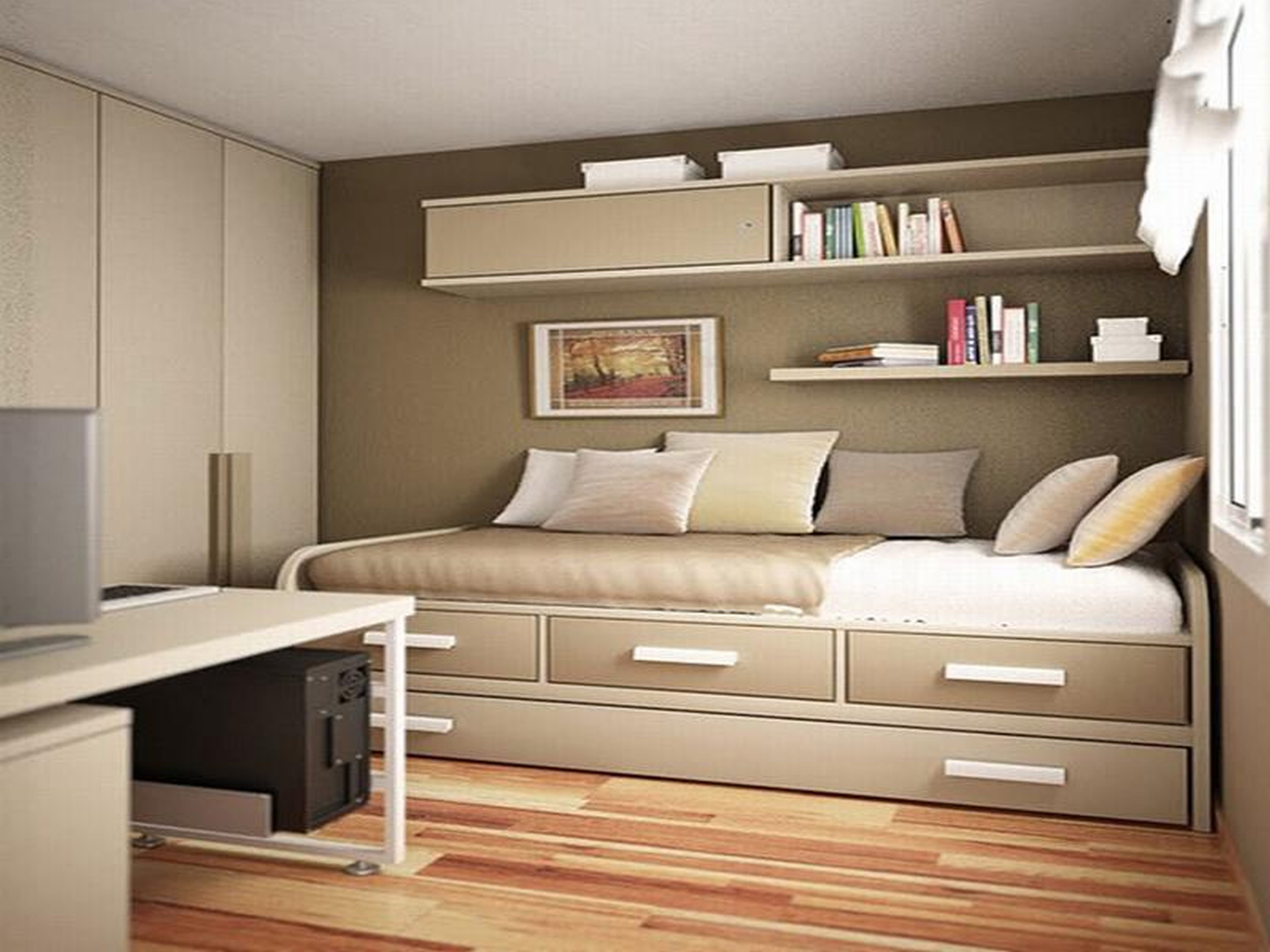 Best Small Bedroom Designs Queen Storage Bed Beds With With Pictures