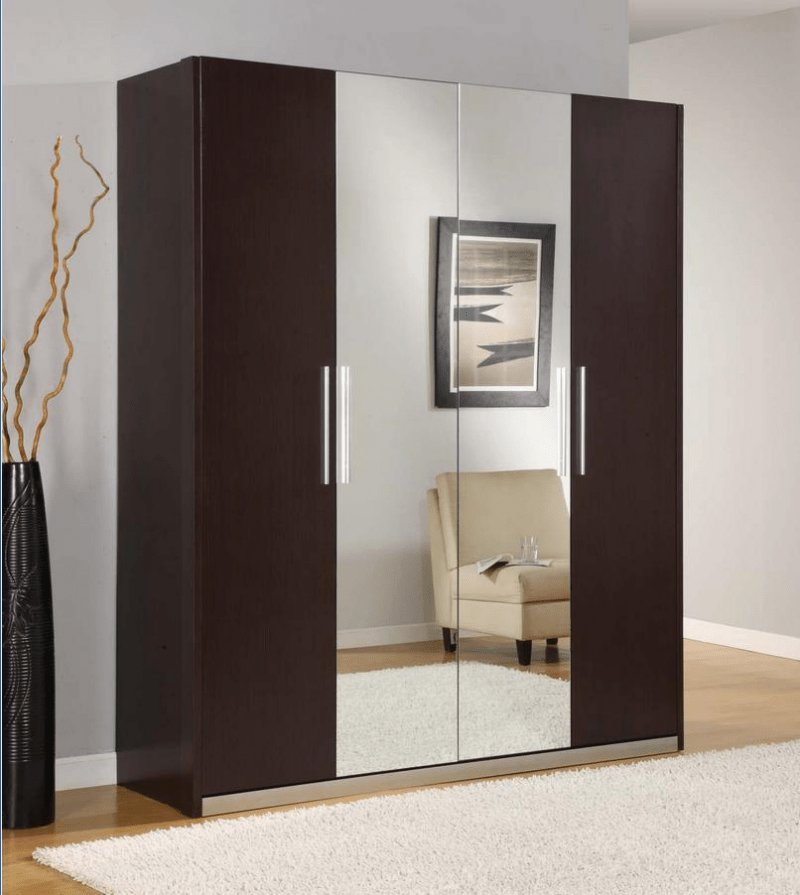 Best Bedroom Wardrobe With Dressing Table Wood Wardrobes For With Pictures