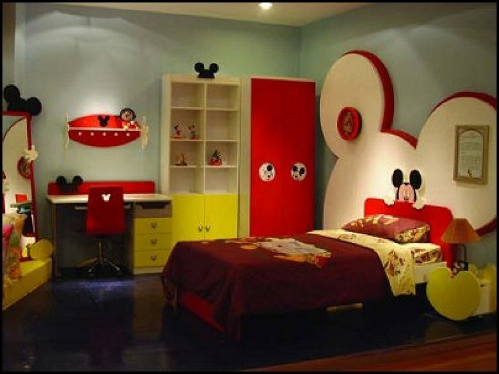 Best Hollywood Decor Furniture Mickey Mouse Bunk Bed Mickey With Pictures