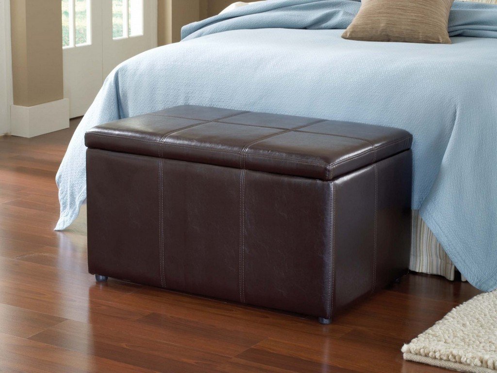 Best Leather Bedroom Benches Diy Bedroom Storage Bench Ideas With Pictures