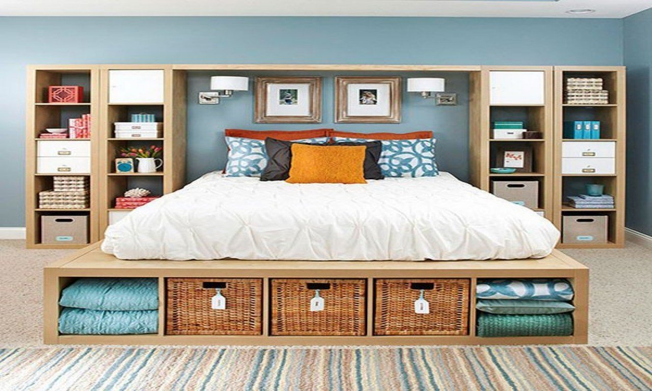Best Creative Small Bedroom Ideas Master Bedroom Storage Idea With Pictures