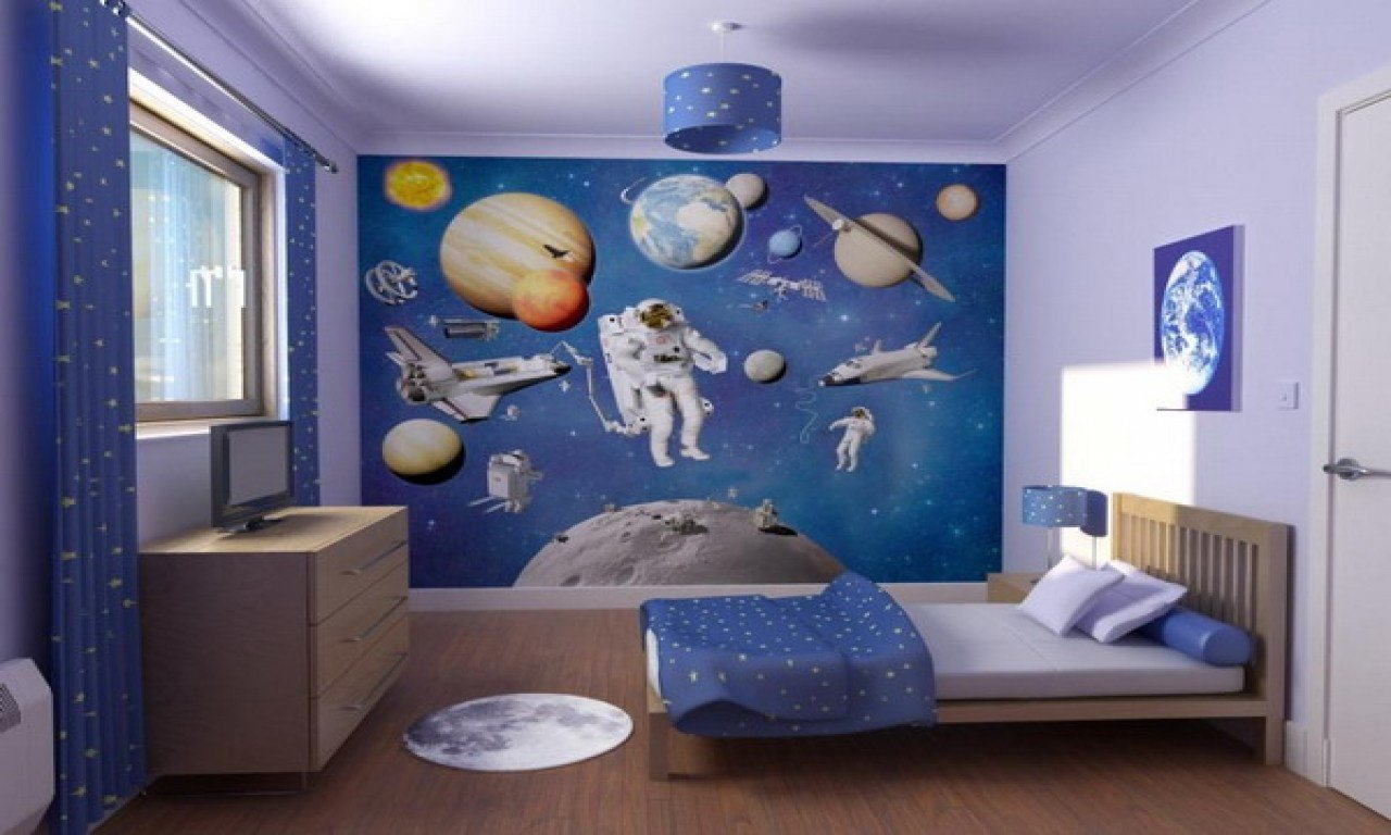 Best Space Bedroom Decor Outer Space Decor For Boys Boys Space With Pictures