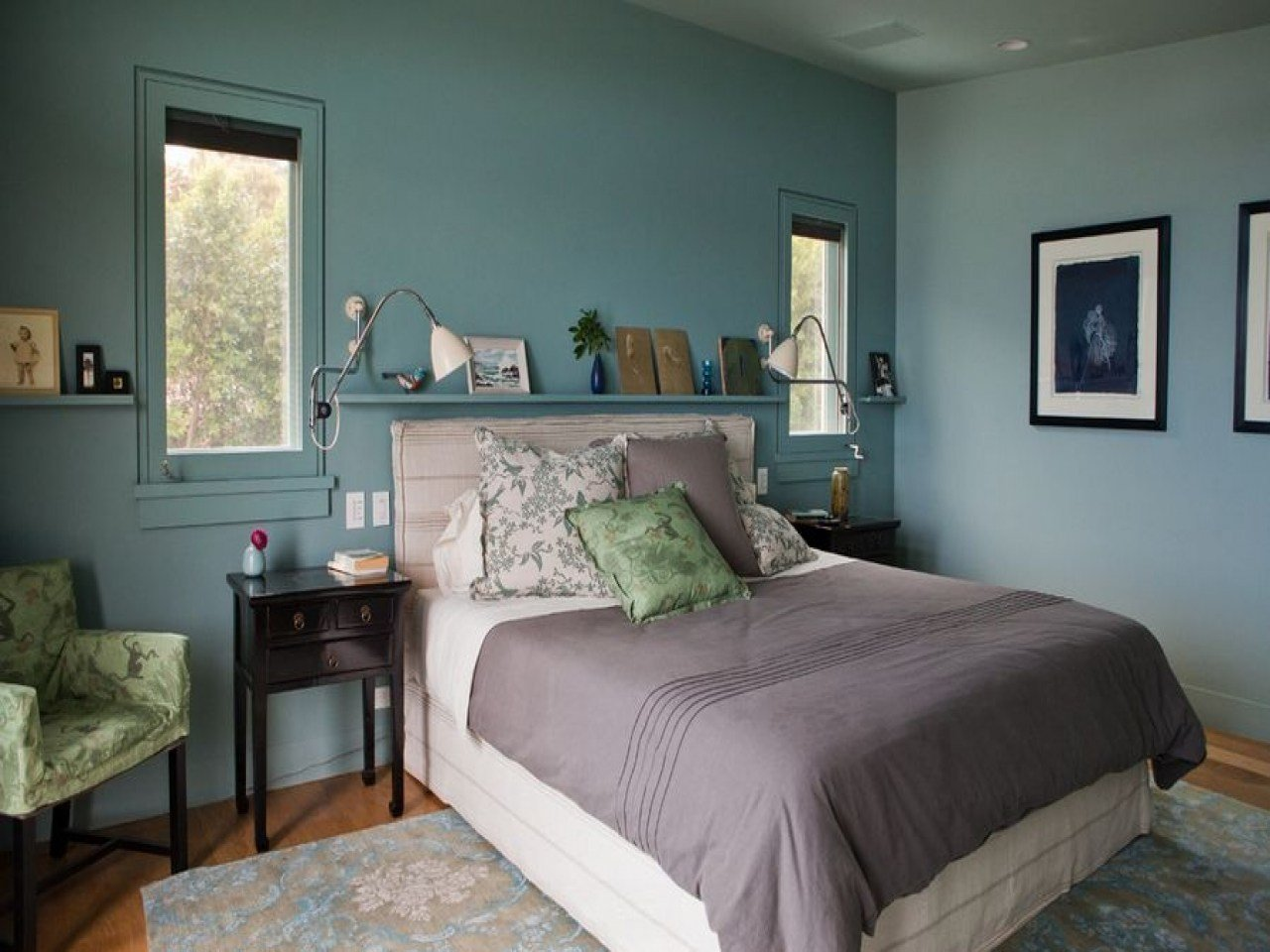 Best Colour Scheme Ideas For Bedrooms Calming Bedroom Paint With Pictures