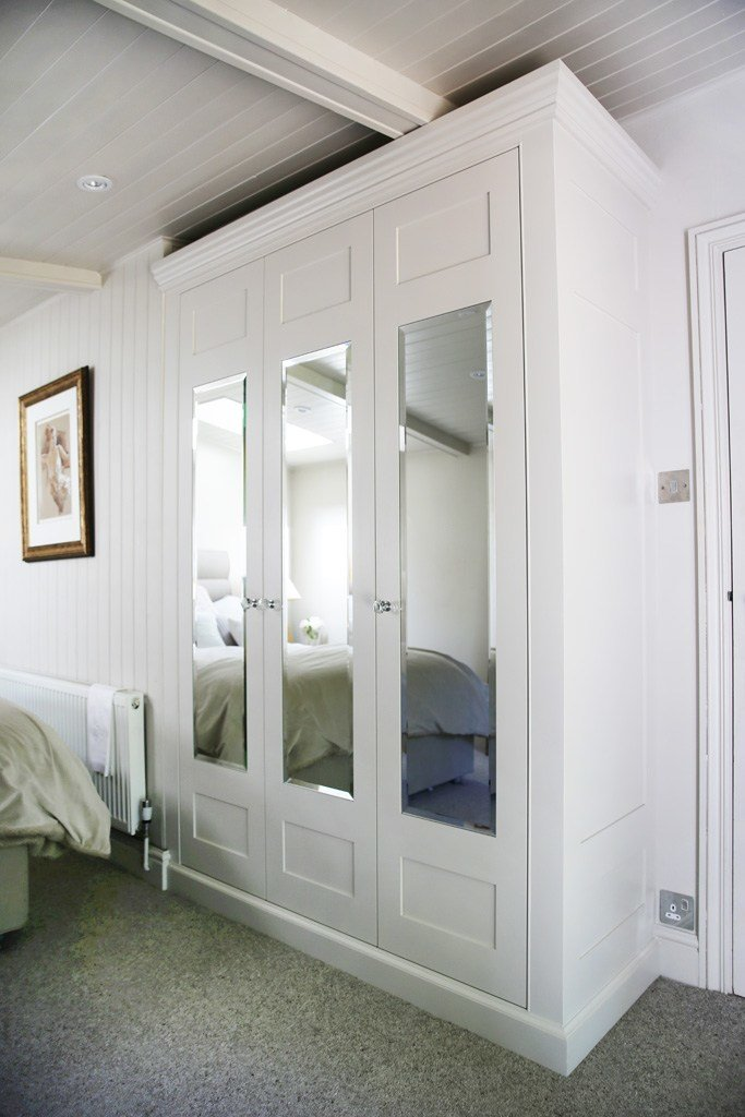 Best Traditional Fitted Mirrored Wardrobe Bespoke Furniture With Pictures