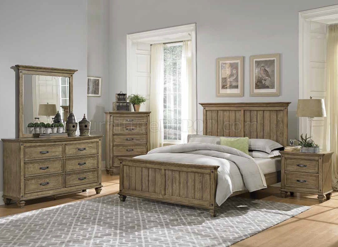 Best Sylvania Bedroom 2298 In Driftwood By Homelegance W Options With Pictures