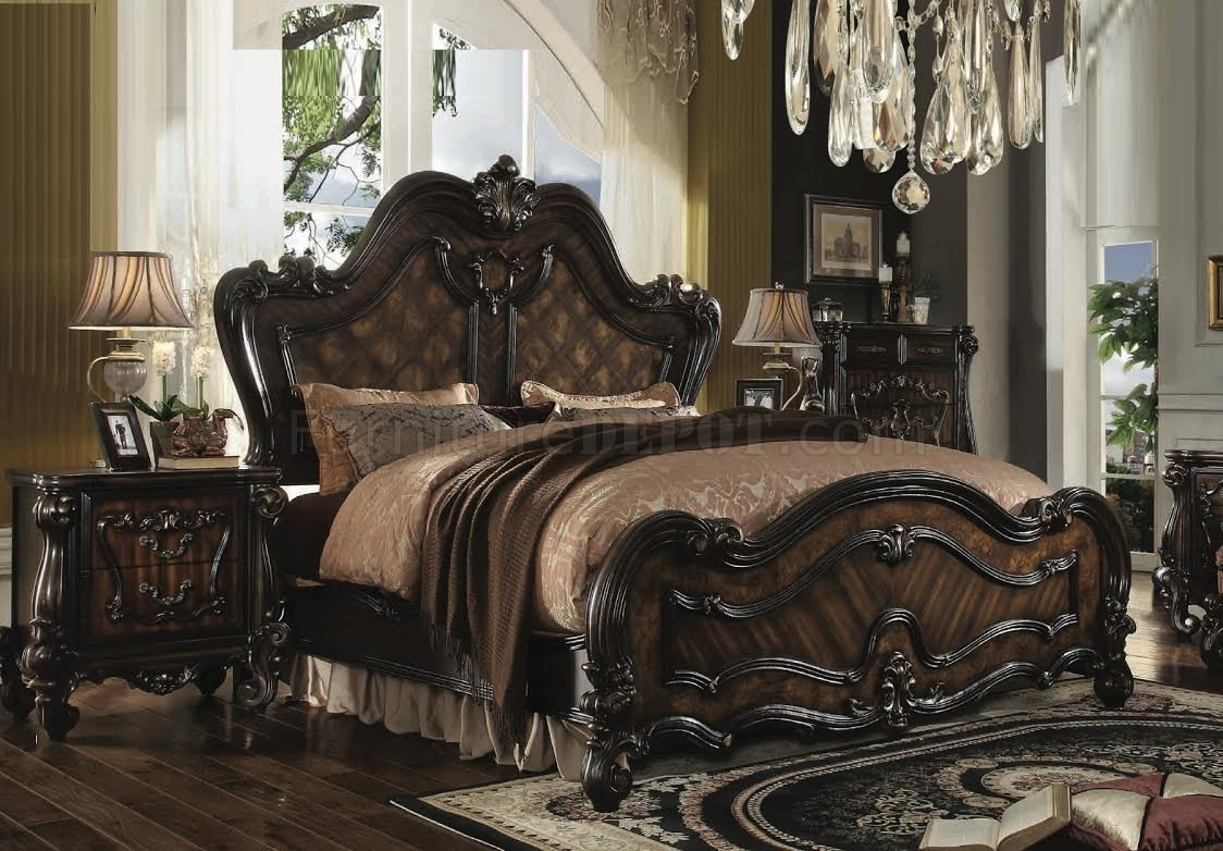 Best Versailles Bedroom 21790 By Acme W Optional Casegoods With Pictures
