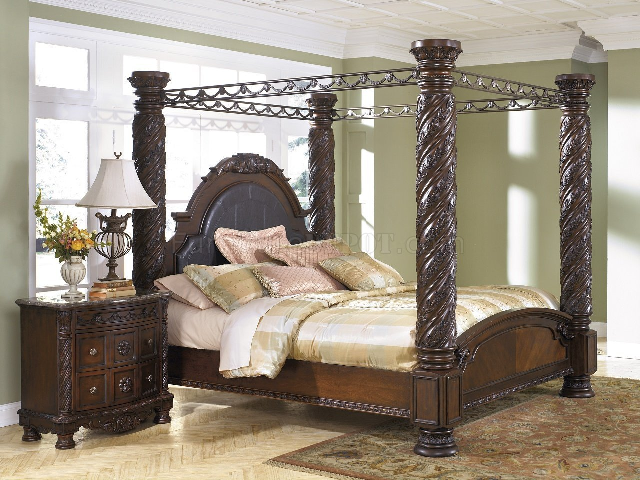 Best North Shore Bedroom B553 Cpy Dark Brown By Ashley Furniture With Pictures