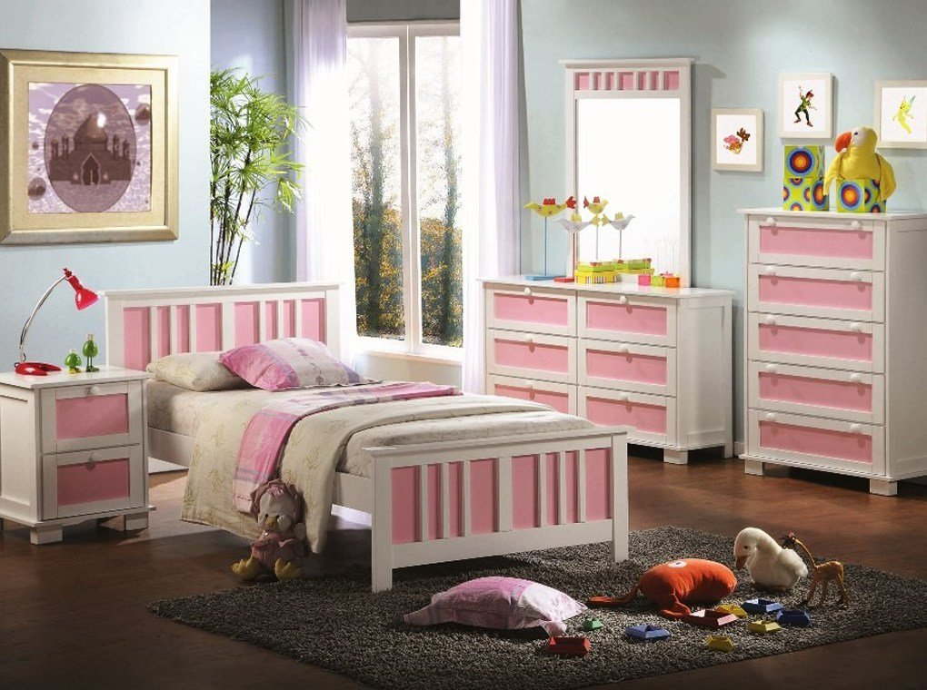 Best Four Colors Youth Bedroom Set Kids Room Sets With Pictures