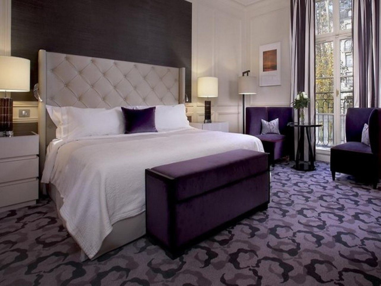 Best Purple Room Accessories Bedroom Lavender And Grey With Pictures