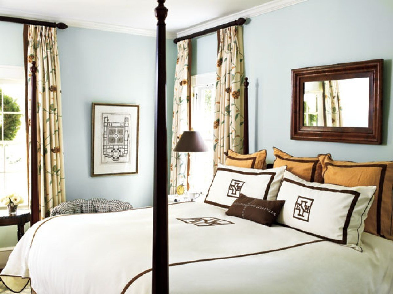 Best Master Bedroom Curtains Ideas Benjamin Moore Gossamer With Pictures