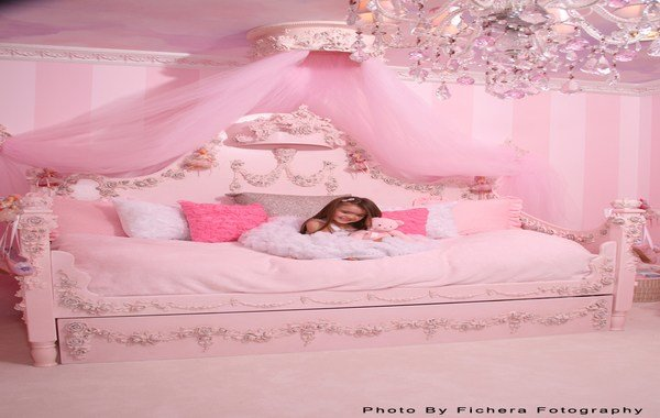 Best Bedroom Designs Categories Pink Drapes Girls Pink With Pictures