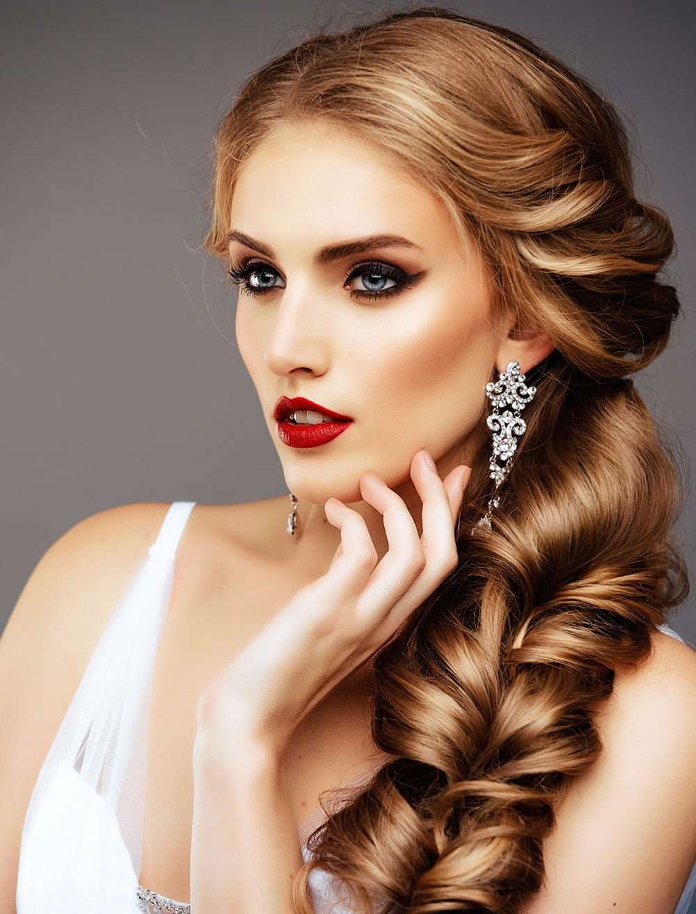 Free Very Stylish Wedding Hairstyles For Long Hair 2018 2019 Wallpaper