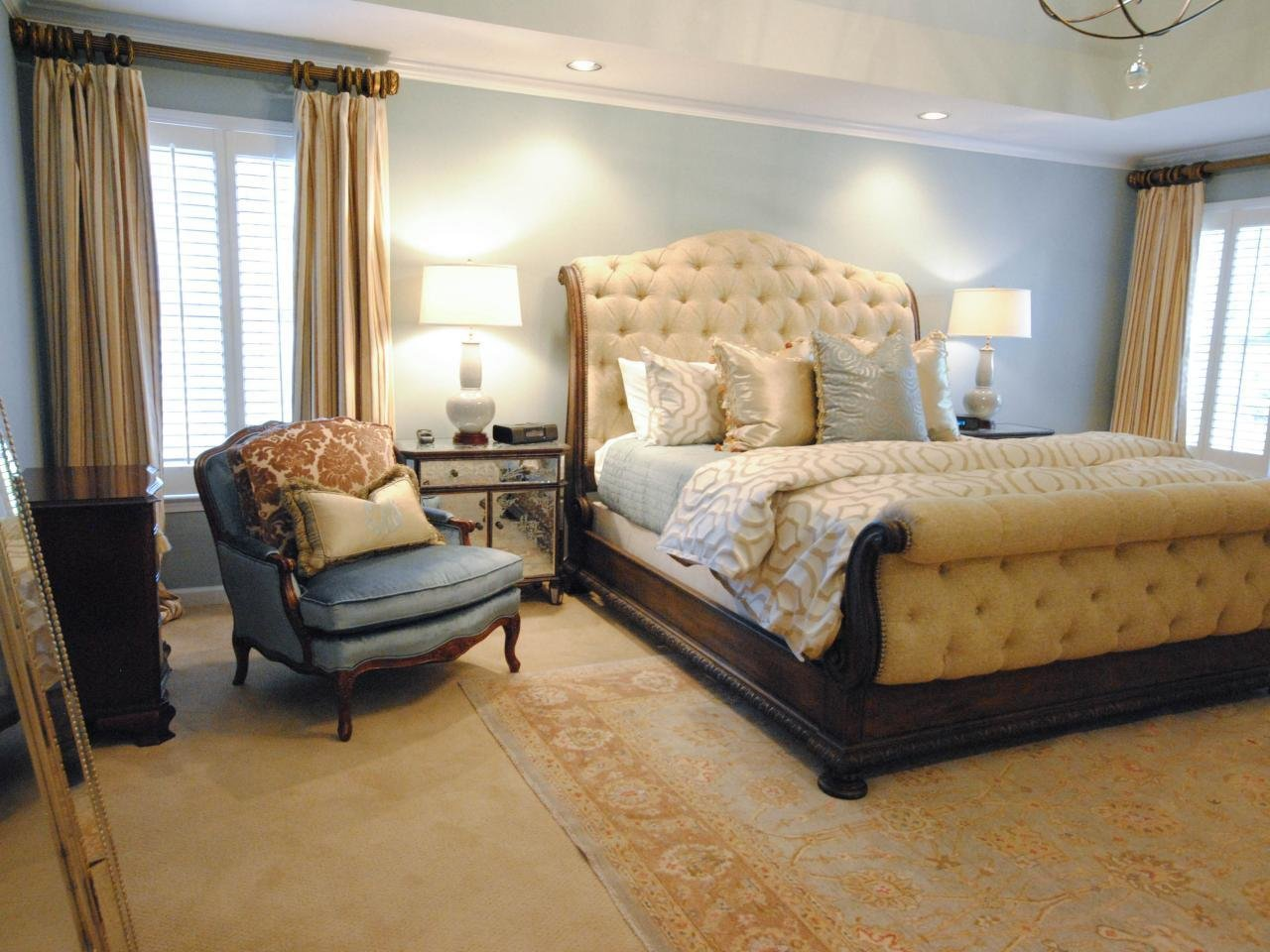 Best Gray Yellow Bedroom Blue Yellow And Gray Master Bedroom With Pictures