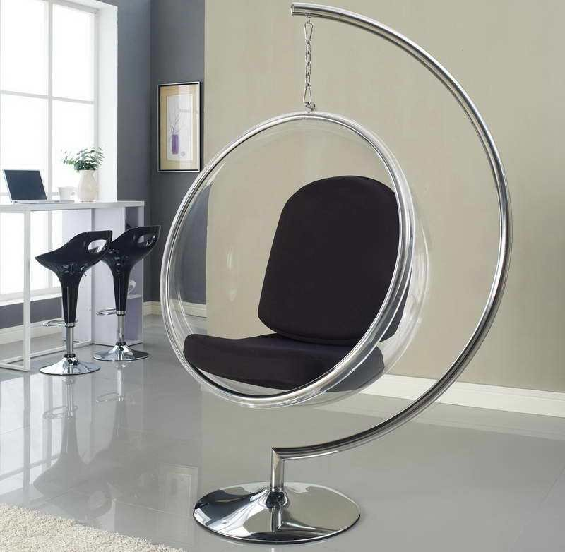 Best Hanging Chairs For Bedrooms Ball Chair Bubble Hanging With Pictures