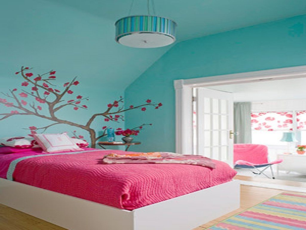 Best Paint Colors For Girls Bedroom Pink And Blue Bedroom Pink With Pictures