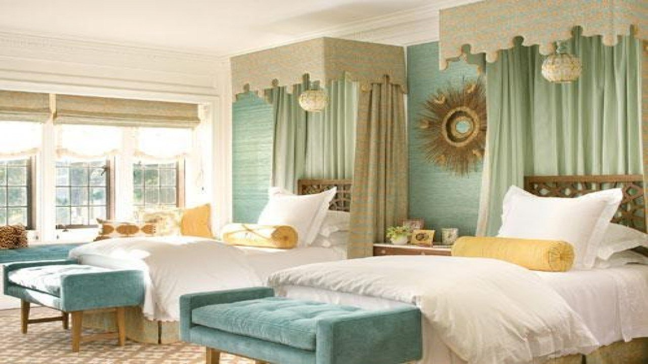 Best Pink And Blue Bedrooms Seafoam Green And Brown Bedroom With Pictures