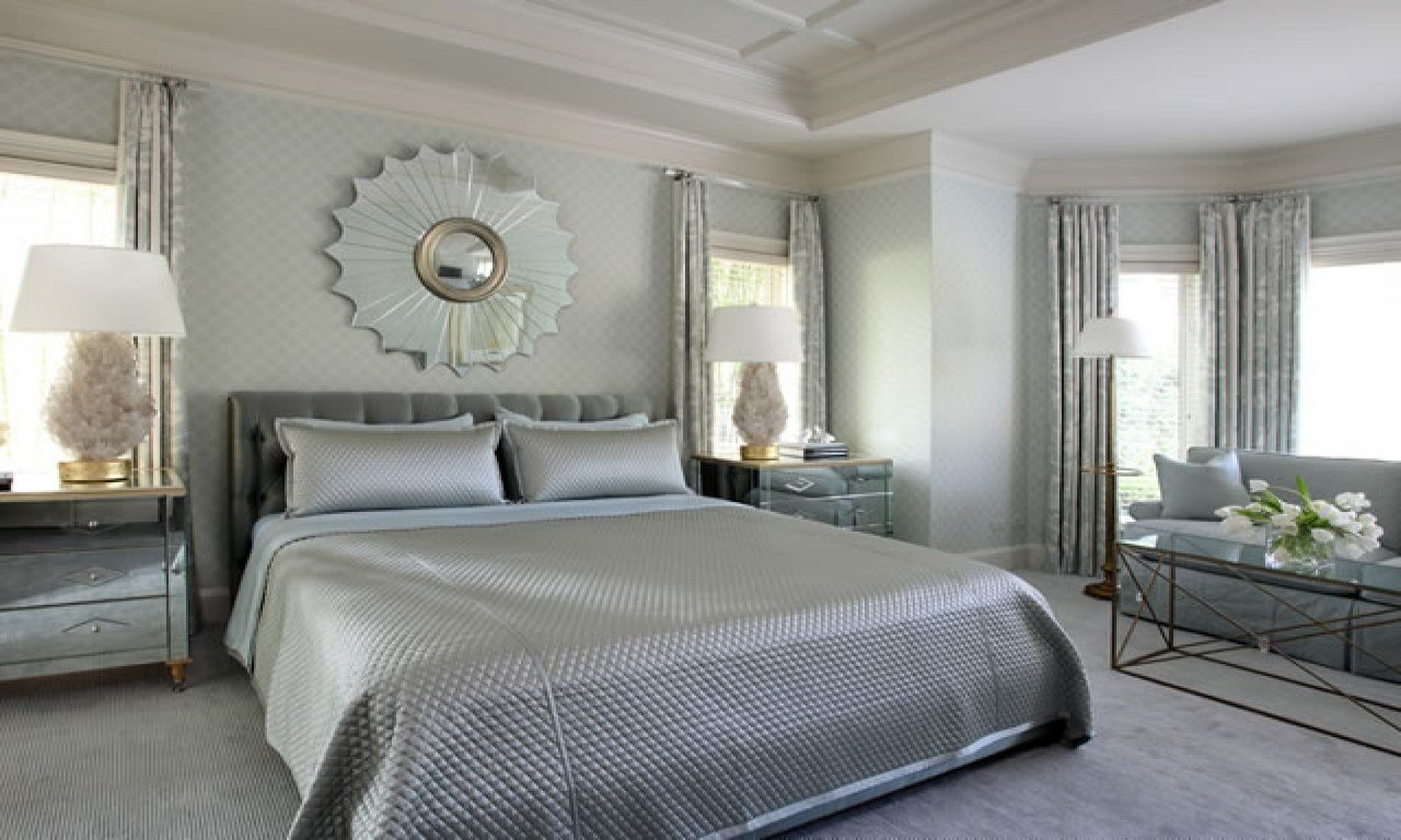 Best Silver Bedroom Ideas Silver Grey Bedding Silver Blue And With Pictures