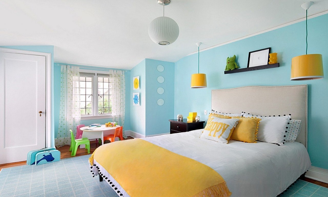 Best Yellow And Blue Bedrooms Bedroom Colors For Kids Room With Pictures