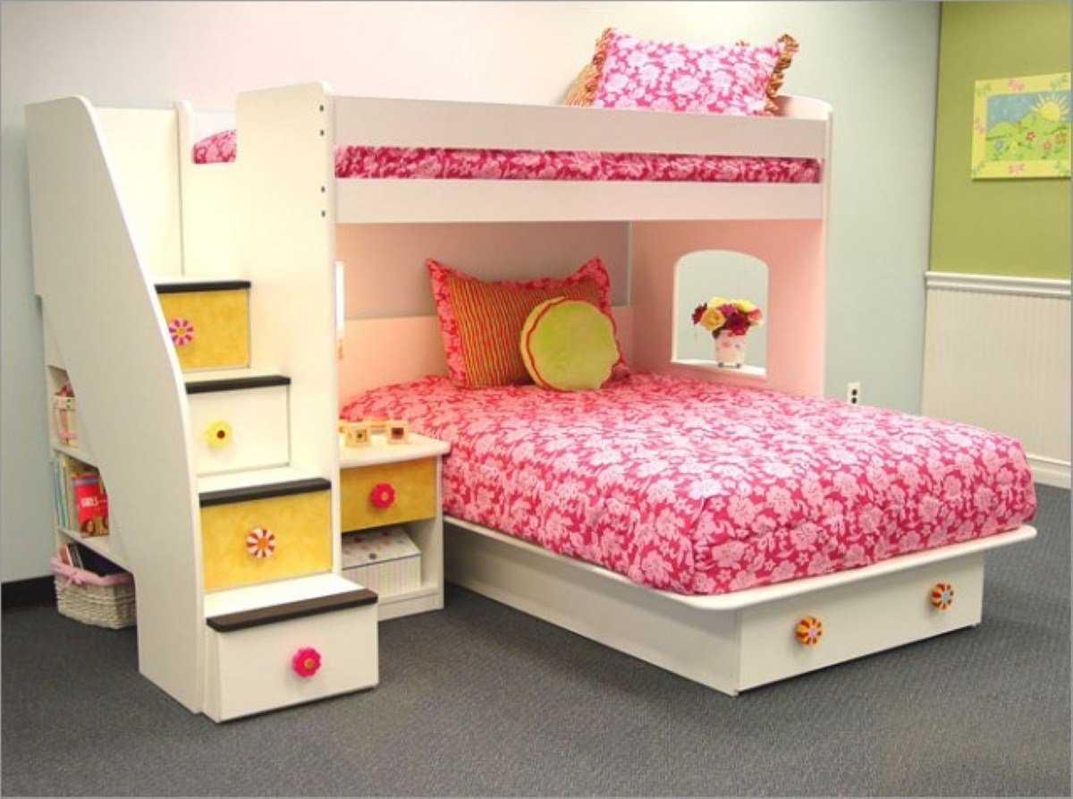 Best Things To Do To Decorate Your Little Girls Bedroom Ideas With Pictures