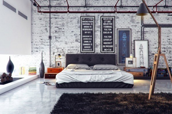 Best Rustic Industrial Bedroom Pictures Photos And Images For Facebook Tumblr Pinterest And Twitter With Pictures