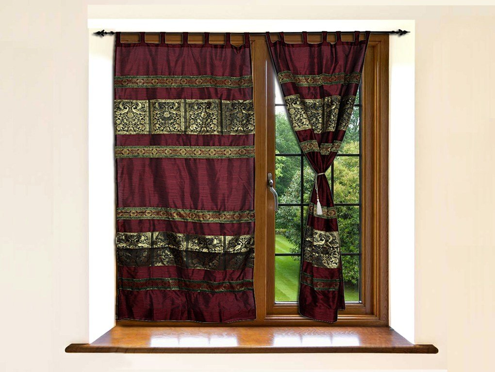 Best Indian Silk Luxury Door Curtains Divider Elephant Bedroom With Pictures