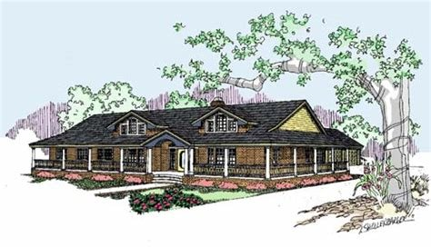 Best Ranch Style House Plans 2415 Square Foot Home 1 Story With Pictures
