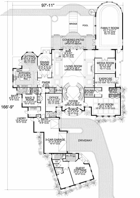 Best Coastal Style House Plans 10591 Square Foot Home 2 With Pictures