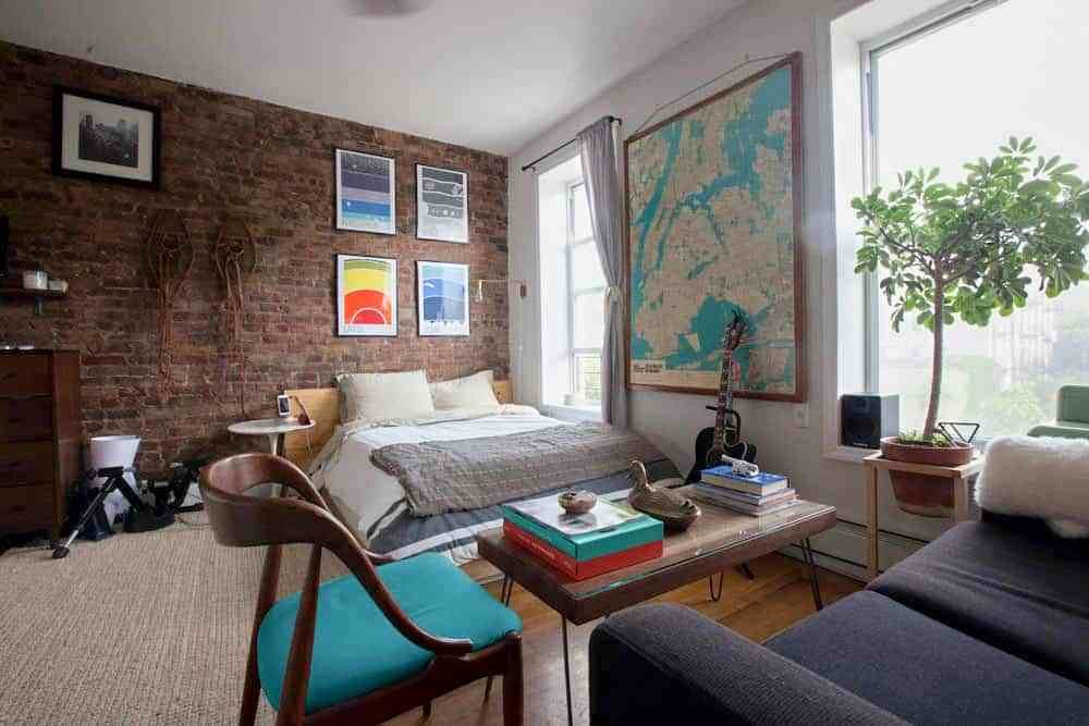Best Apartment Decorating Ideas A Brooklyn Bedroom With Pictures