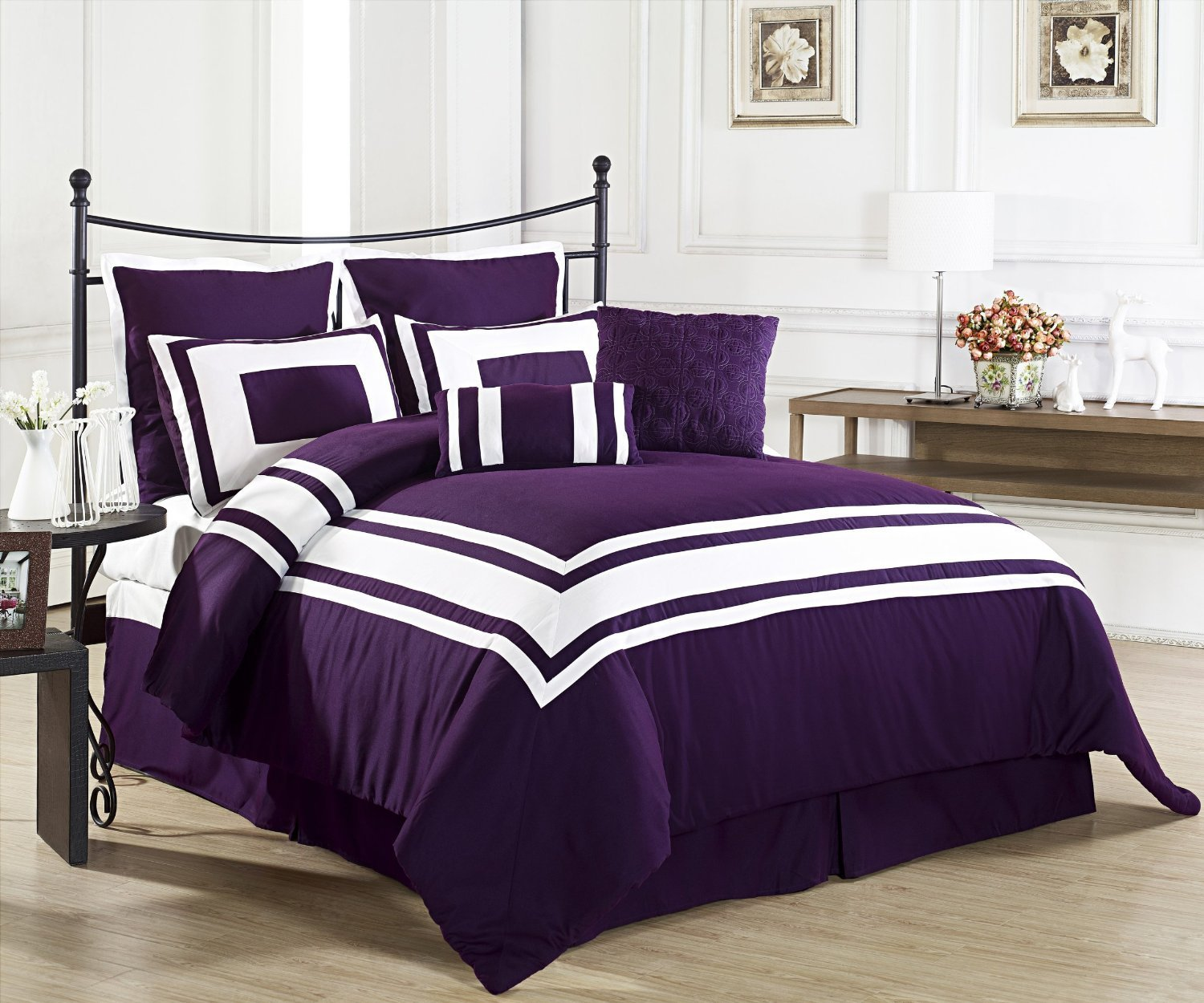 Best Purple Bedding Sets Perfect Tone For The Season Home Furniture Design With Pictures