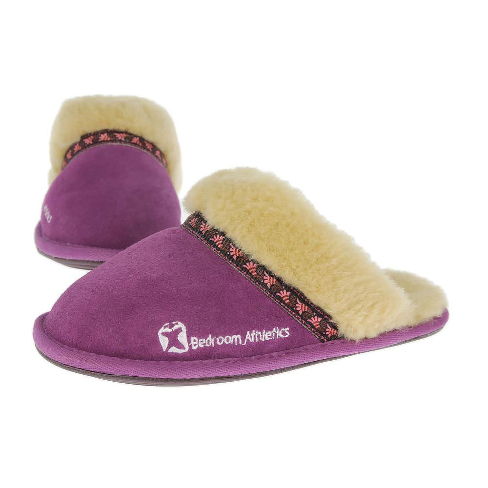 Best Bedroom Athletics Womens Muffin Slippers New Grape Shoetique Co Uk With Pictures