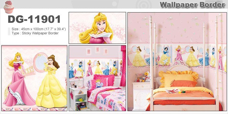 Best Kids Wallpaper Border Beautiful Design Girls Children Room With Pictures