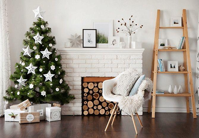 Yeni Yıl için odayı nasıl dekore edersin 2021: Yeni Yıl Dekorunun en iyi fikirleri 9