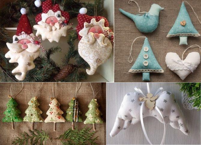 Joulu lelut tyttöystävä materiaalit tekevät sen itse