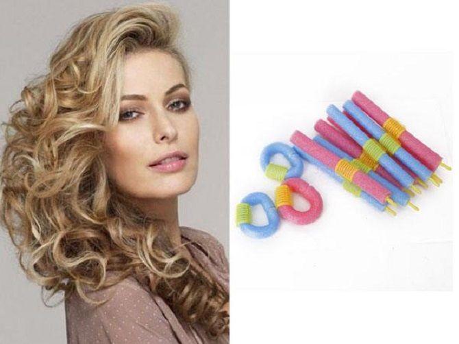 Curls deliciosos: 9 Métodos de ondulação em casa 7
